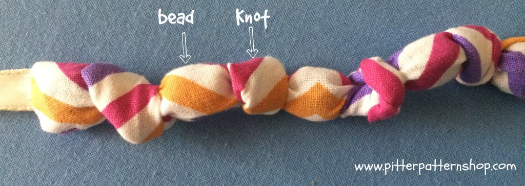 fabric necklace 2