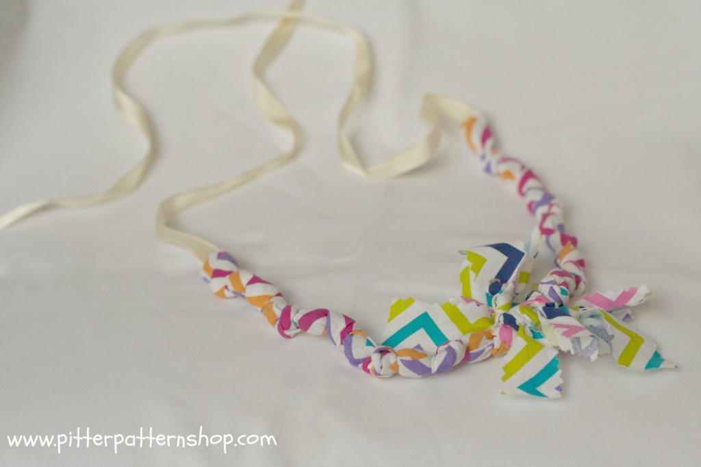 fabric necklace 5